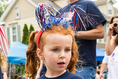 Parade (Joshua Eller) Tags: girl ribbons parade 4thofjuly independenceday havredegrace portriat