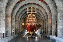 Museu Martim de Barcelona (Jorge Franganillo) Tags: barcelona espaa museum boat spain museu vessel maritime catalunya museo catalua martimo drassanes martim museumartimdebarcelona