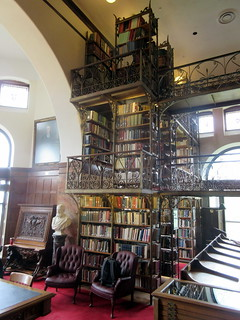 Tower of Book Stacks in Andrew Dickson White Library