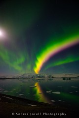 Aurora (andersjorulfphotography) Tags: light sea lake nature zeiss landscape photo iceland nikon glacier aurora artshow anders glacierlake northernlight thenorthernlight jorulf sirui