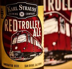 Karl Strauss Brewing Red Trolley Ale San Diego CA (mbell1975) Tags: california ca red usa beer america brewing us san unitedstates sandiego trolley cerveza ale diego calif cal american karl bier cerveja birra bire piwo biere strauss pivo bira l