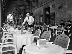 . (alb.montagna) Tags: street portrait people blackandwhite bw italy monochrome italia streetphotography streetportrait ferrara zuiko olympusomdem10mkii