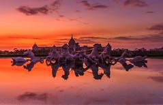 (sic Chiu) Tags: sky cloud reflection sunrise taiwan tainan   6d        ef1635mm