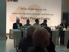 Pedro Passos Coelho com as Comunidades Portuguesas no Brasil