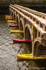 Pont en carton sur le pon de l'lorn  Landerneau. (Loulou Photographie) Tags: art architecture nikon pont carton mm 18 50 oeuvre d3200 yongnuo