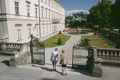The Mirabell Gardens (Doy Ablola) Tags: travel salzburg digital vintage europe gr ricoh lightroom apsc vsco
