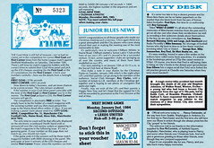 Manchester City vs Oldham Athletic - 1983 - Page 14 (The Sky Strikers) Tags: road xmas city canon magazine manchester football athletic maine second match oldham division saab league the 40p
