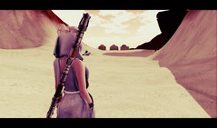 scavenger (claudia.anne.rosier) Tags: starwars sand character secondlife roleplay scify