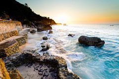Vibrant sunset at Ayana Resort (ElginCon) Tags: sunset sea bali beach indonesia landscapes rocks colorful afternoon vibrant wave  seashore           500px ifttt