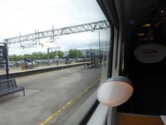390136 window view. Milton Keynes Central (4/7/16) (*ECMLexpress*) Tags: west coast central trains class virgin emu milton keynes 390 pendolino wcml 390136