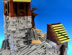 NoFig//Behind the tower1 (CeiCrownieGuy) Tags: ocean docks lego no lor figs lenfald crakenhaven