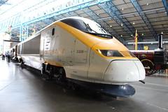 Eurostar Power Car 3308 17-06-2016 NRM.2 (routemaster2217) Tags: york train eurostar railway emu locomotive nrm nationalrailwaymuseum electricmultipleunit 3308 powercar class3732