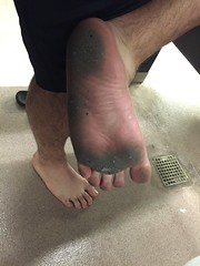It's a dirty job, but someone's gotta go barefoot! #BarefootAtWork #barefoot #barefooter #filthyfeet (barefootdizzle) Tags: barefoot barefooter filthyfeet barefootatwork