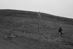 DSC07711 (Gumundur Rbert) Tags: sky white mountain black 35mm cycling climb iceland cloudy f14 sony climbing rolf prima reykjavk sland ares a7ii pansonic samyang reihjl rokinon