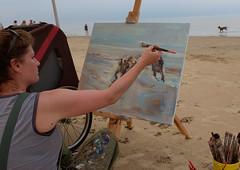 Schilderfestival Noordwijk 2016 (klaroen) Tags: schilder artist nederland painter kunstenaar noordwijk 2016 schilderfestival marcelleschoenmaker