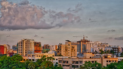 DSC00098_HDR (fahd.b.iqbal) Tags: blue sunset sky tree green birds yellow clouds landscape photography sony dhaka alpha bangladesh hdr gulshan hdrphotography a6300