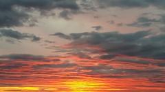 Cloud ceiling (Lunatic Photographer UY) Tags: travel sunset sky sun sol southamerica clouds uruguay atardecer landscapes photographer view paisaje wanderlust cielo nubes vista puesta lunatic vacations atlantida canelones lunaticphotographercom
