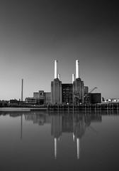 Battersea Power (Tawny042) Tags: d700 nikon battersea powerstation thames river reflection london
