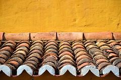 A little bit of Clay ! (CJS*64) Tags: roof house holiday colour portugal lines tile nikon rows clay nikkor dslr madeira funchal cjs rooftile rooftiles nikkorlens d7000 nikond7000 18mm105mmlens craigsunter cjs64