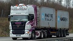 PL - Henrik Hansen Scania R500 TL (BonsaiTruck) Tags: truck lorry camion trucks hansen henrik airbrush scania lastwagen lorries lkw lastzug