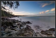Bonny Bay (Emma White ( ... somewhere ... )) Tags: ocean longexposure sunset beach water bay nikon rocks long exposure photographer hills nsw bonny nisi midnorthcoast emmawhite sirui nisifilters