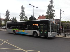 Lacroix rseau Le Parisis Mercedes Citaro C2 CZ-071-RA (95) n945 (couvrat.sylvain) Tags: cars lacroix bus autobus mercedes mercedesbenz parisis gare montignybeauchamp beauchamp citaro c2 o530