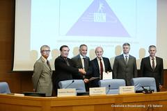 Memorandum of understanding beetween UIC and USIC (Ferrovie dello Stato Italiane) Tags: senato roma uic usic renatomazzoncini fs fsitaliane ferroviedellostato innovazione integrazione mobilit