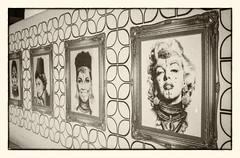 Marilyn and others @ Marrakech (PaulHoo) Tags: marilyn monroe art paint marrakech nik contax t2 afga apx film analog 35mm lightroom nostalgic portrait 2016 marocco ilobsterit