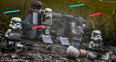 Rapid Assault (EternalSlothman) Tags: starwars lego legos minifigs stormtroopers soldiers blasters war wars toy toys out