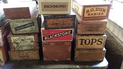 Cigar Boxes @ N.C. Wyeth Studio Circa 1945 (MR38.) Tags: cigar boxes nc wyeth studio circa 1945