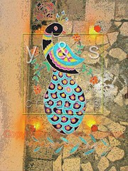 JC040098 (yogesh s more) Tags: blue light red orange india abstract color colour green art texture colors beautiful lines yellow festival stone female fun religious design asia soft paint pattern colours graphic drawing stones traditional religion decoration shapes culture ground peacock powder line celebration forms maharashtra form concept tradition outline shape hindu hinduism celebrate decorate pound pune nationalbird rangoli decorated pounding indianpeafowl pavocristatus payacom