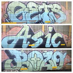(MARIGOLDZ.) Tags: graffiti gets bozo asic uploaded:by=flickrmobile flickriosapp:filter=nofilter