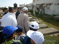 12 May - visit to Christian and Jewish cemeteries 2 (High Atlas Foundation) Tags: cemeteries cemetery community respect tolerance jewish coexistence development essaouira cultural sustainable preservation fha haf civilsociety jewishmuslim capacitybuilding participatorydevelopment
