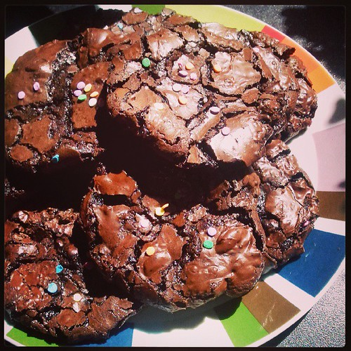 Rich chocolate puddle biscuits for my craft Monday sweet friends xx
