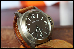 IMG_9118 (bakelite1) Tags: brown dial pam 116 chocolat panerai titane luminor bettarini pam116