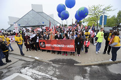 "AIDS Healthcare Foundation's ""Keep The Promise On AIDS"" March and Rally (aidshealth) Tags: usa cleveland oh"