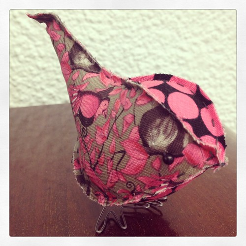 New Fabric Bird