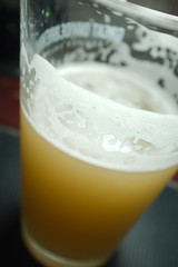Hefe Weizen Homebrew (Penzance) Tags: beer glass recipe all lace wheat grain ale yeast pint homebrew murky hefe bavarian weizen