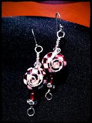 Roll Tide (Gossamer1013) Tags: earrings jewelrydiy uploaded:by=flickrmobile flickriosapp:filter=peacock peacockfilter