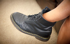 Hers In His (kevinspencer) Tags: hazel docs drmartens 2013 30daysof