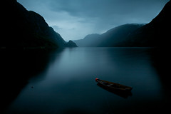 A passing storm (hartvigs) Tags: longexposure travel mountains norway canon landscape hiking nd canon5d ndfilters odda nd110 canon24105mmf4 bwnd