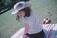 SAKURAKO - What a day for a picnic! (MIKI Yoshihito. (#mikiyoshihito)) Tags: japan sapporo picnic hokkaido daughter sakurako datsun 娘 ピクニック 平岡公園 さくらこ 櫻子 サクラコ 4歳8ヶ月