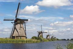 Kinderdijk windmills (George Pachantouris) Tags: world holland heritage mill water netherlands windmill rotterdam europe unesco kinderdijk molen