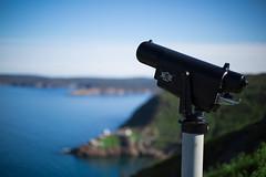 The Battery 2 (Kayla C) Tags: ocean sea canada canon newfoundland 50mm view bokeh mark iii battery atlantic queen telescope mk nfld horizen nf mkiii mk3 mark3