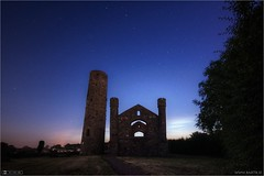 The Plough over Taghadoe (bbusschots) Tags: ireland tower history church night ruin astrophotography maynooth constellation kildare ptlens localhistory historicbuilding photomatix tonemapped topazdenoise taghadoeroundtower noctilucentcloudsnlcs
