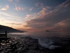 Dawn Fishing (Mandiro) Tags: bali dawn fishing candidasa karangasem