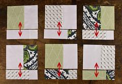 Charity quilt block tutorial (JessieAller) Tags: tutorial dearstella dcmqg dcmodernquiltguild