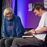 Charlatans front man Tim Burgess in conversation with Ian Rankin