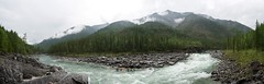 Kayaking in The Sayan Mountains, Siberia (mattcorke) Tags: white mountains water whitewater kayak russia rapids siberia kayaking sayan rapid