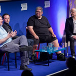 Ben Aaronovitch, Steve Cole and Justin Richards talk Dr Who
